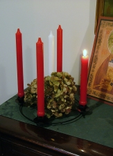 Advent candle 1